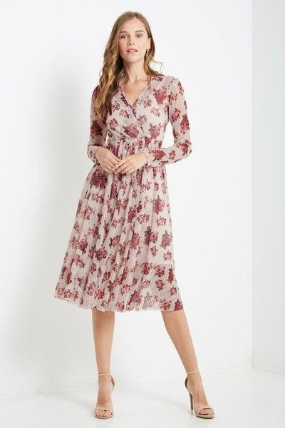 PRE-ORDER Nerida Floral Lace Maxi Dress-Dresses-Daring Diva Australia-8-Daring Diva Australia
