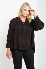 Georgina Metallic Top-Tops-MT-Daring Diva Australia