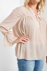 Georgina Metallic Striped Top-SOLD-SOLD-Daring Diva Australia