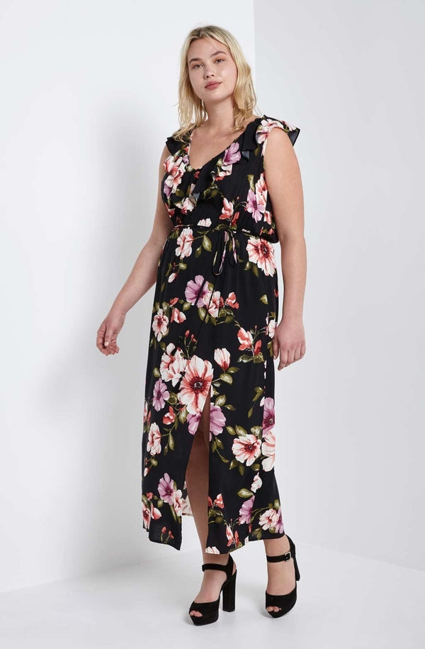 Marcy Floral Maxi Dress-SOLD-SOLD-Daring Diva Australia