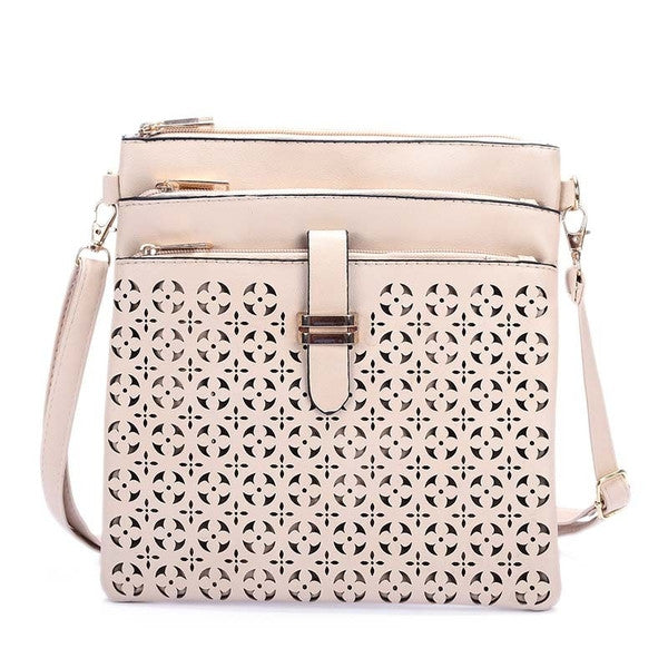 Z-Sleepy Hollow Cross Body Bag Beige-SOLD-SOLD-Daring Diva Australia