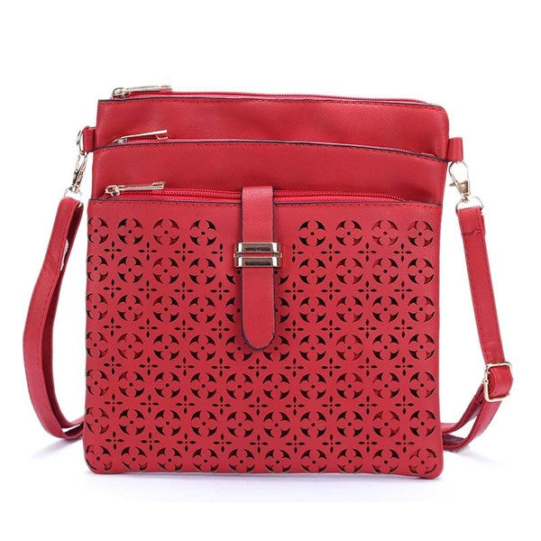 Z-Sleepy Hollow Cross Body Bag Red-SOLD-SOLD-Daring Diva Australia