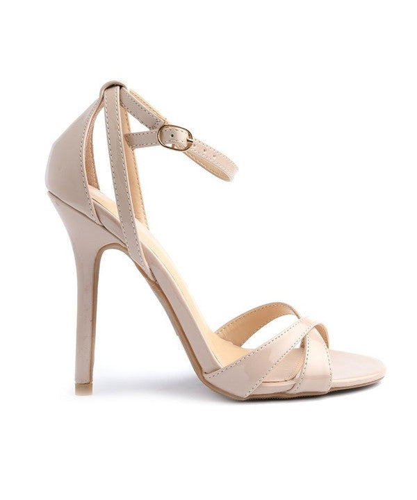 ADELE NATURAL HEELS-Shoes-WFS Shoes-Daring Diva Australia