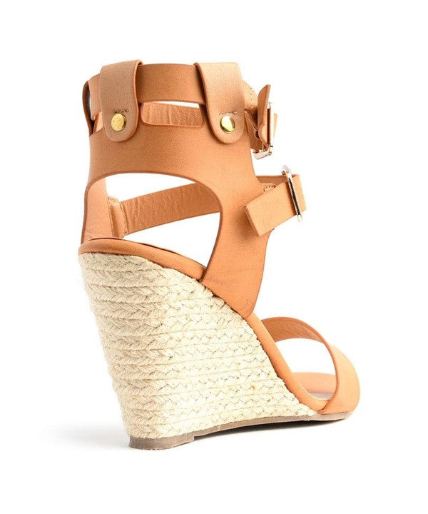 Z-VIVA CAMEL WEDGE SHOES-SOLD-SOLD-Daring Diva Australia