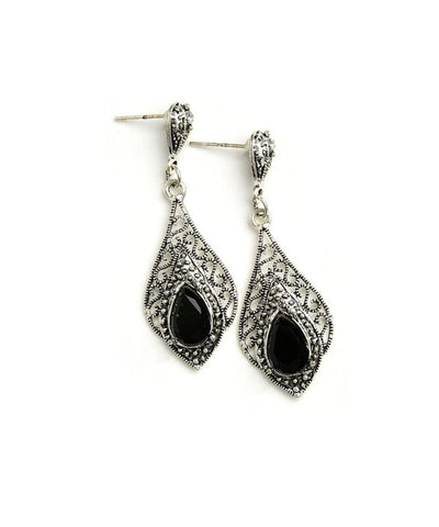 GEM DROP EARRINGS-Jewellery-Jewellery-Daring Diva Australia