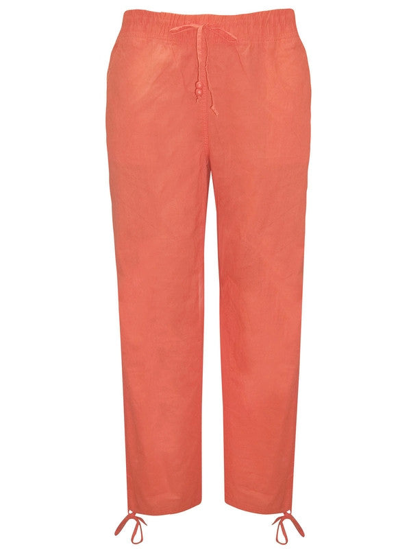 Cotton Tie Cargo Pants-Clearance-FCW-Daring Diva Australia