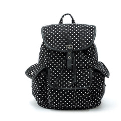 Z-Black Polka Dot Back Pack-SOLD-SOLD-Daring Diva Australia