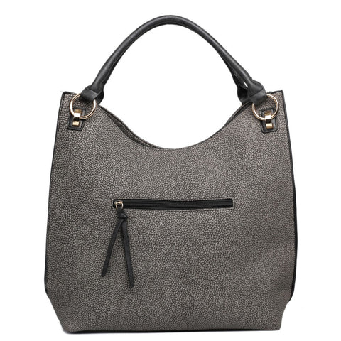 TEXTURED HOBO SHOULDER BAG-Handbags-ML-Daring Diva Australia