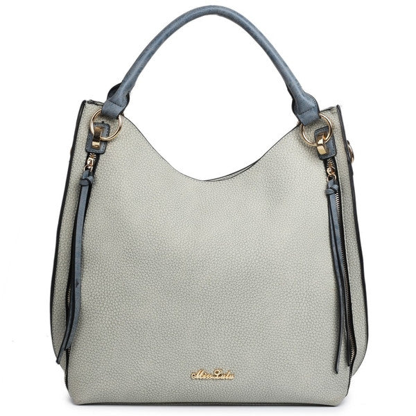 Textured Hobo Bag-Handbags-ML-Daring Diva Australia