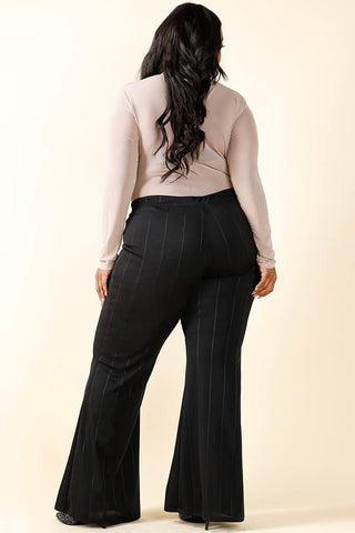 Austyn Bell Bottom Pants-Bottoms-KG-Daring Diva Australia