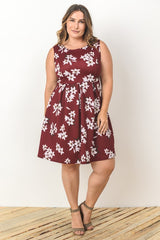 Claudia Floral Empire Dress-Dresses-GLI-Daring Diva Australia