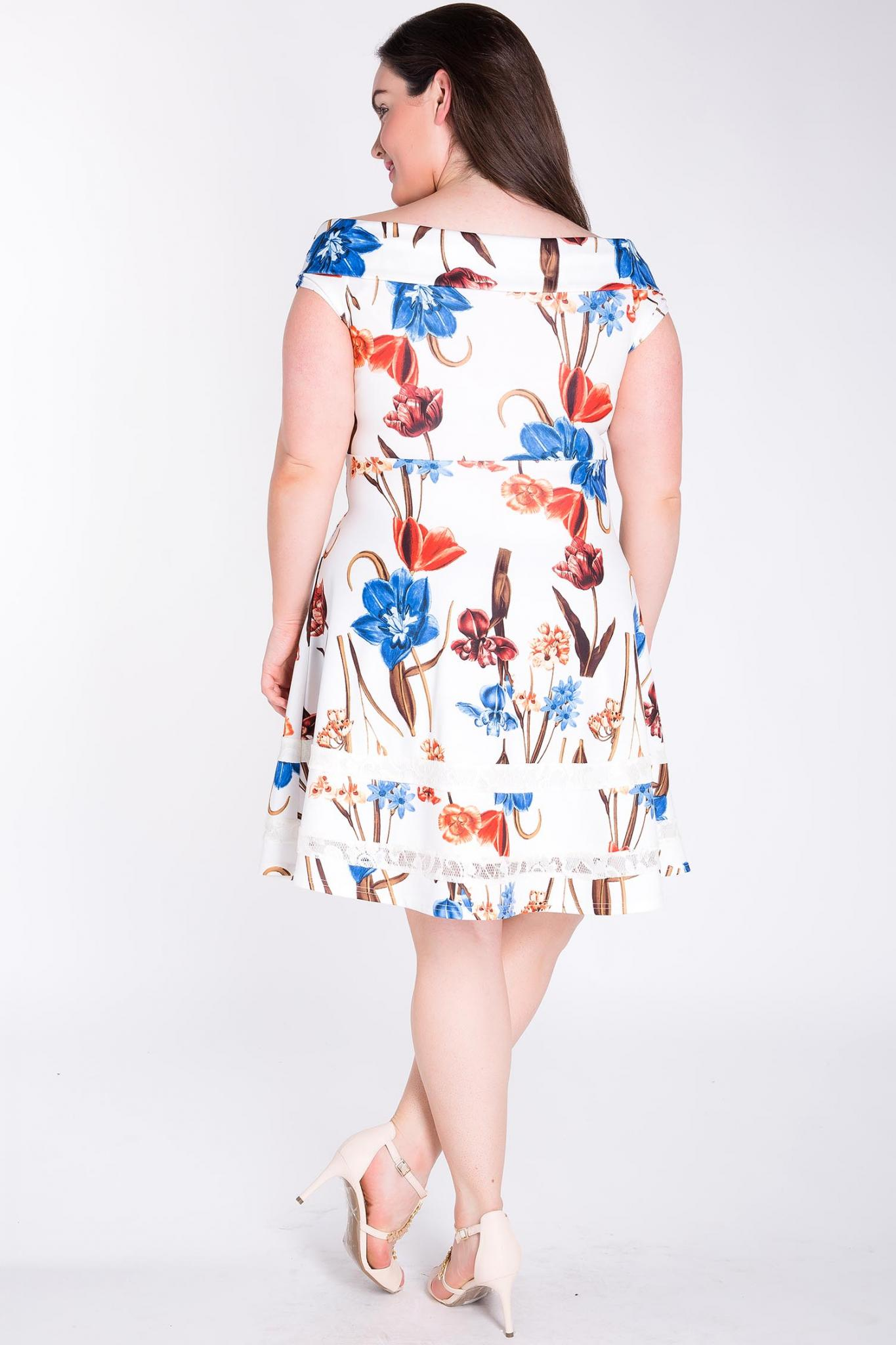 Rayna Floral Fit & Flare Dress-Dresses-LL-Daring Diva Australia