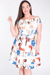 Rayna Fit & Flare Dress-SOLD-SOLD-Daring Diva Australia