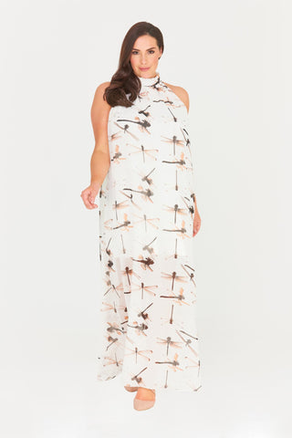 Myah High Neck Maxi Dress-Dresses-LL-Daring Diva Australia