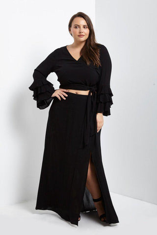 Womens Clothing Plus Size Fashion Maxi Dresses