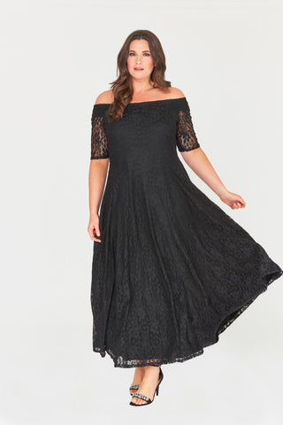 Zaylee Lace Maxi Dress-LAST ONE-LL-18-Daring Diva Australia