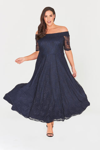Zaylee Lace Maxi Dress-LAST ONE-LL-24-Daring Diva Australia