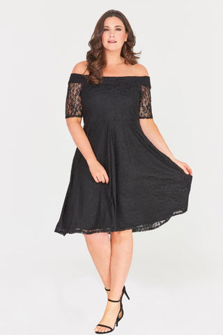 Madalyn Lace Midi Dress-LAST ONE-LL-26-Daring Diva Australia