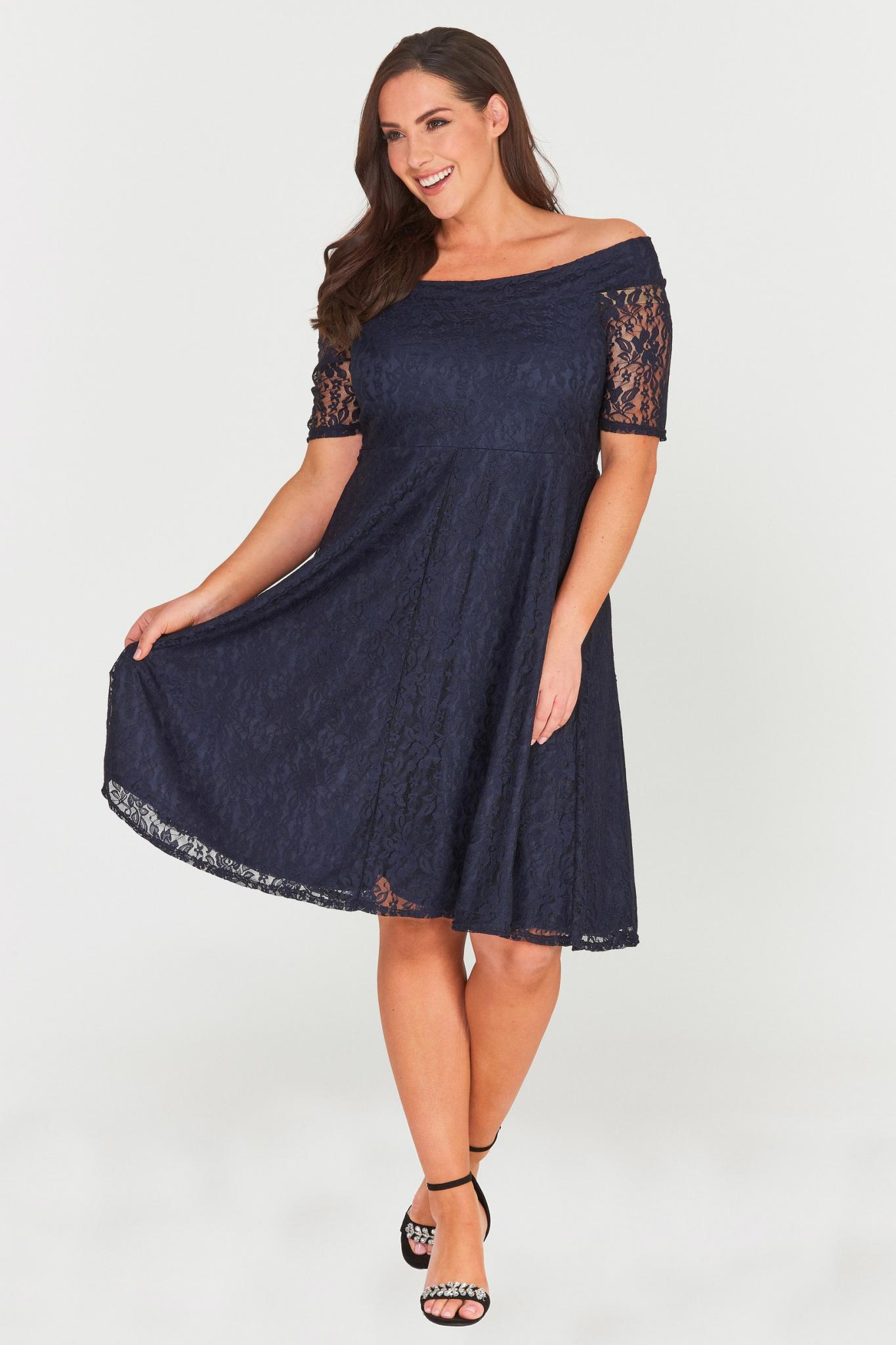 Madalyn Lace Midi Dress-LAST ONE-LL-16-Daring Diva Australia