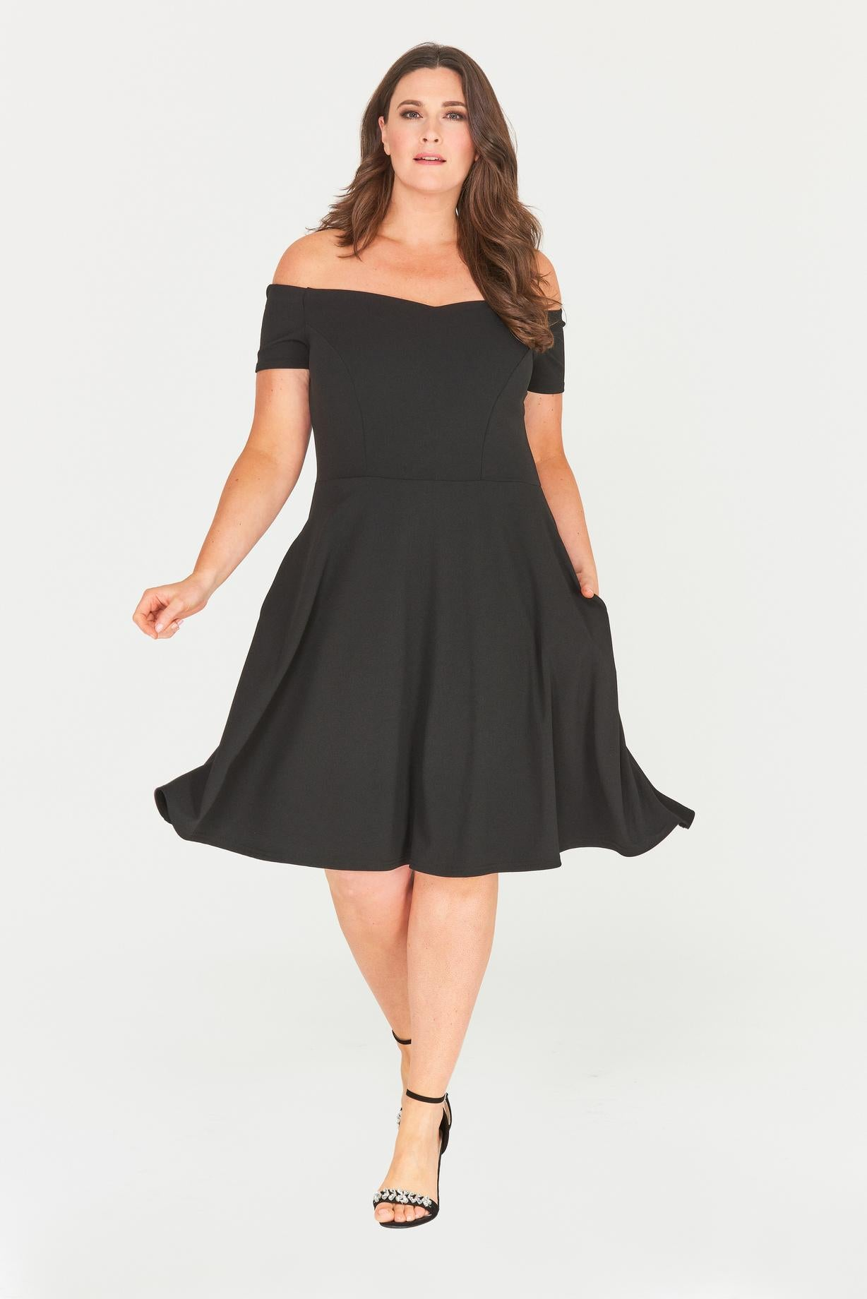 Kailyn Fit & Flare Dress-Dresses-LL-Daring Diva Australia