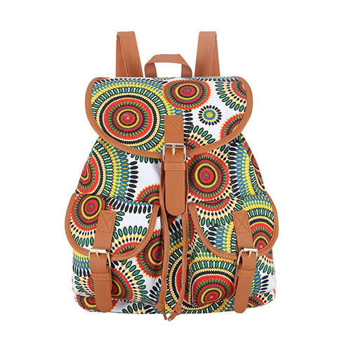 Z-Miss Hippie Canvas Backpack-SOLD-SOLD-Daring Diva Australia