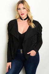 BLACK SEQUIN JACKET-SOLD-SOLD-Daring Diva Australia