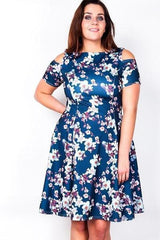 Lilyfield Cold Shoulder Dress-SOLD-SOLD-Daring Diva Australia
