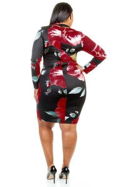 Mishka Bodycon Dress-Dresses-5C-Daring Diva Australia