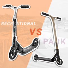 Recreational vs Park/Pro Scooter heres some info to help you choose!