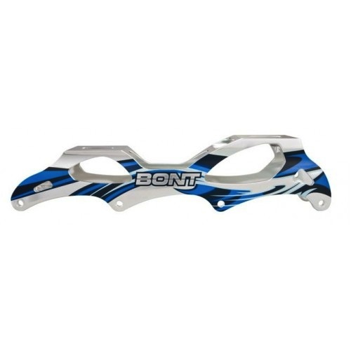 BONT Inferno Inline Speed Skate Frame - Blue