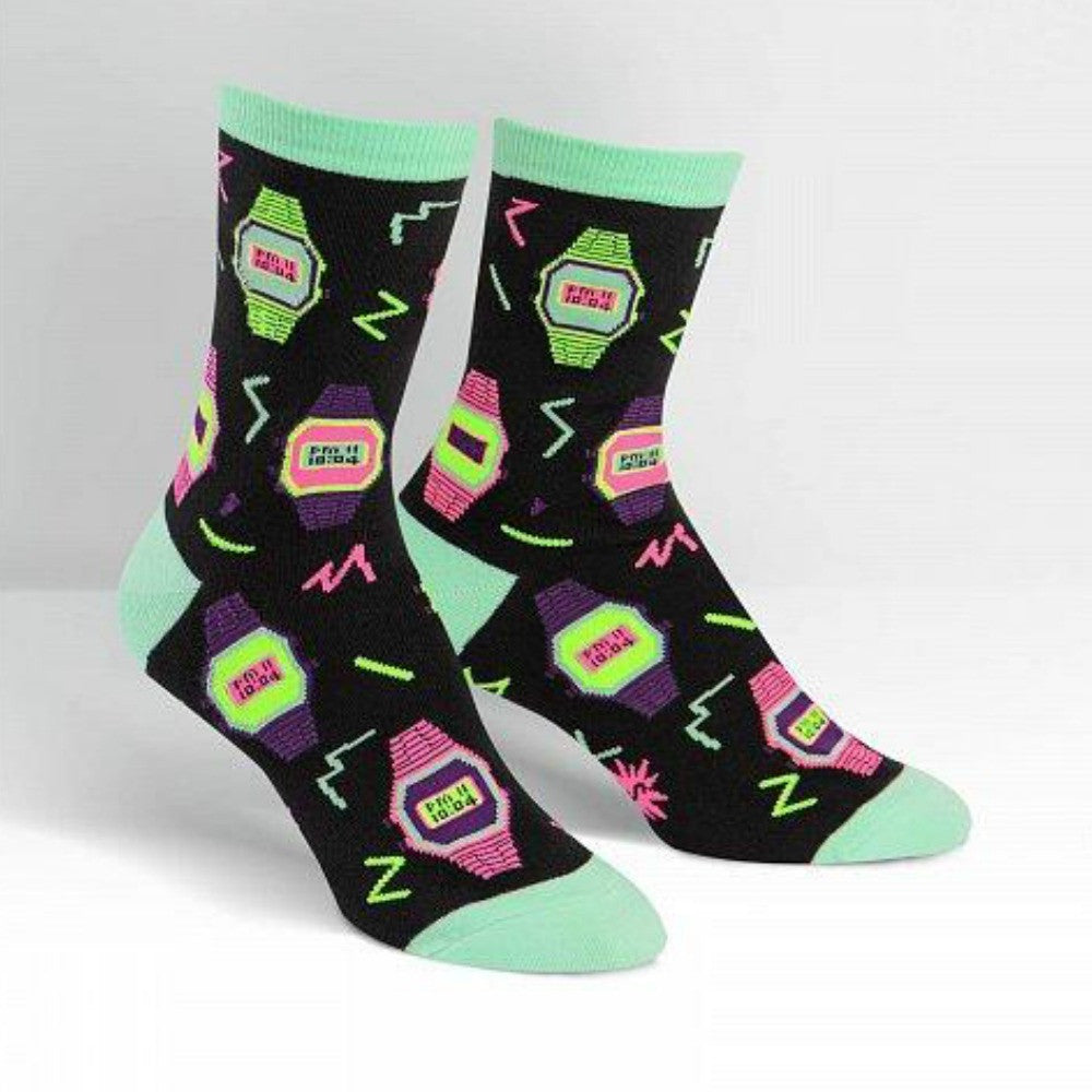 SOCK IT TO ME Crew Womens Just In Time