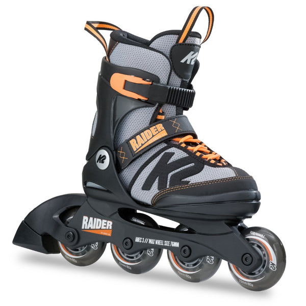 K2 Raider 2017 Kids adjustable inline skate