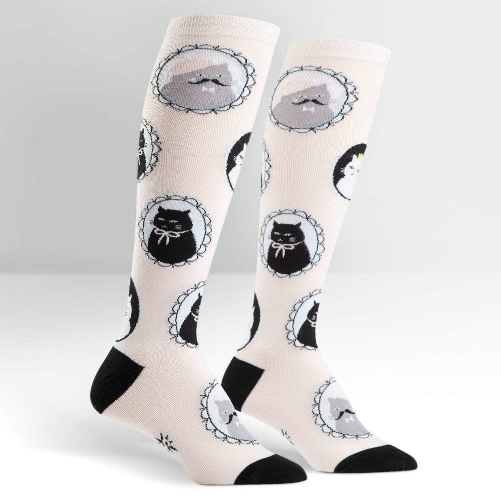 SOCK IT TO ME Knee High Womens Cameow