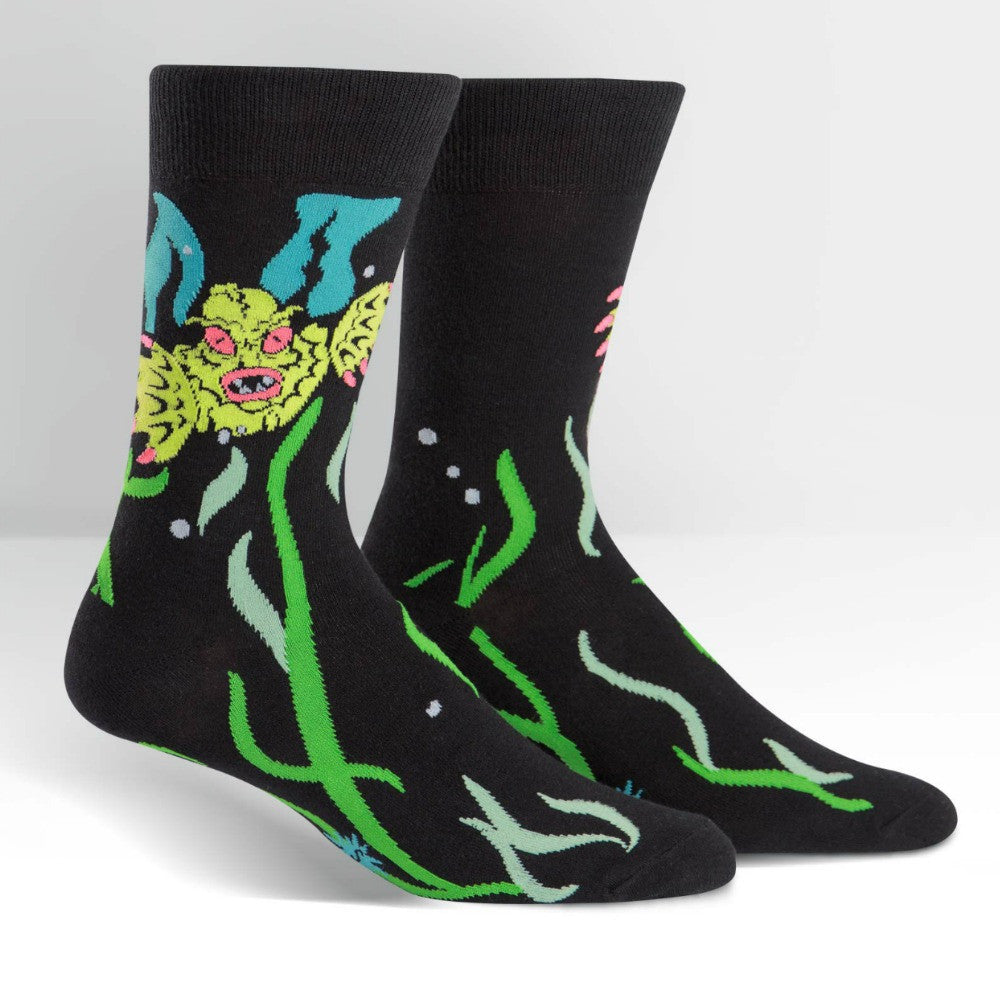 SOCK IT TO ME Crew Mens Creature From The Shoe