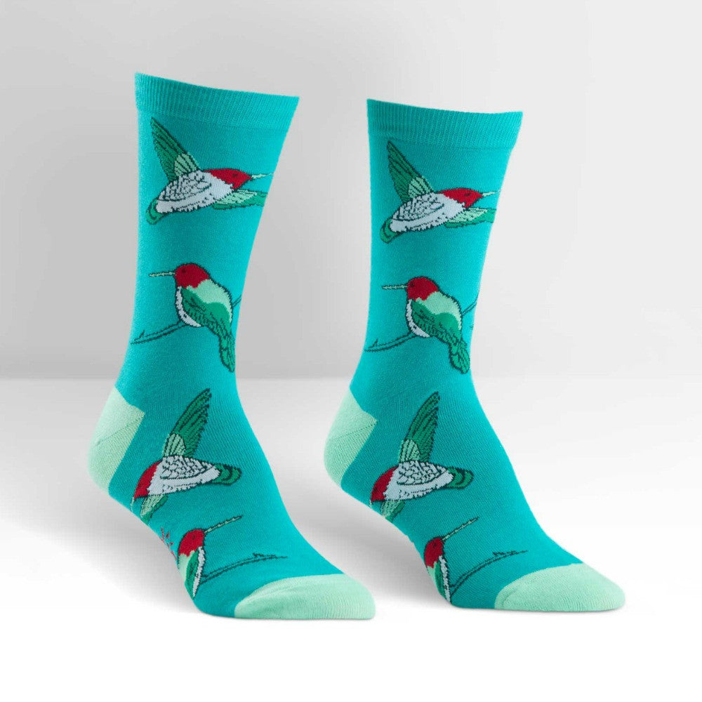 SOCK IT TO ME Crew Womens Hummingbird