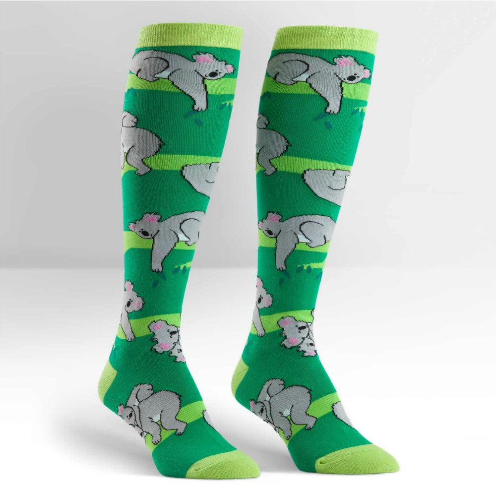 SOCK IT TO ME Knee High Womens Koala Love