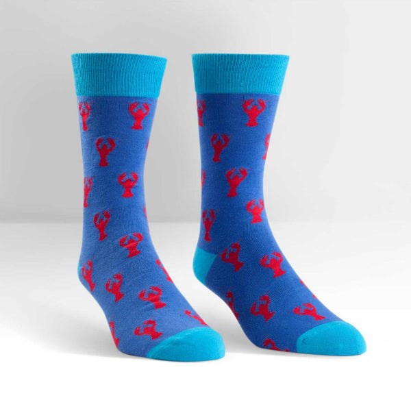 SOCK IT TO ME Crew Mens Lobster