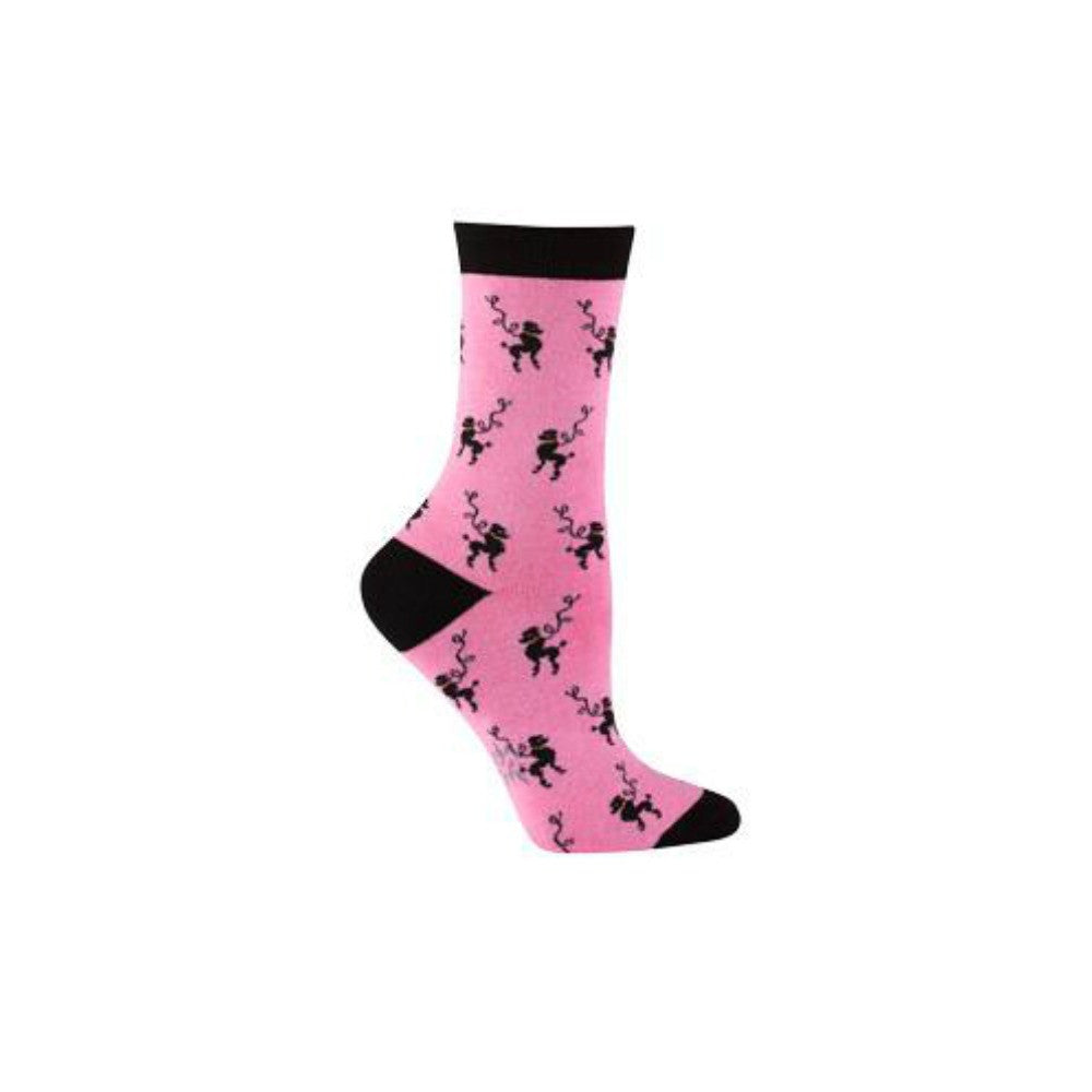 SOCK IT TO ME Crew Womens Poodle