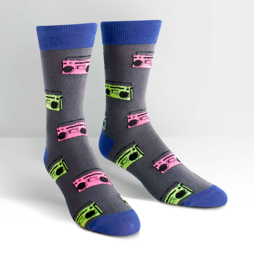 SOCK IT TO ME Crew Mens Pump It Up