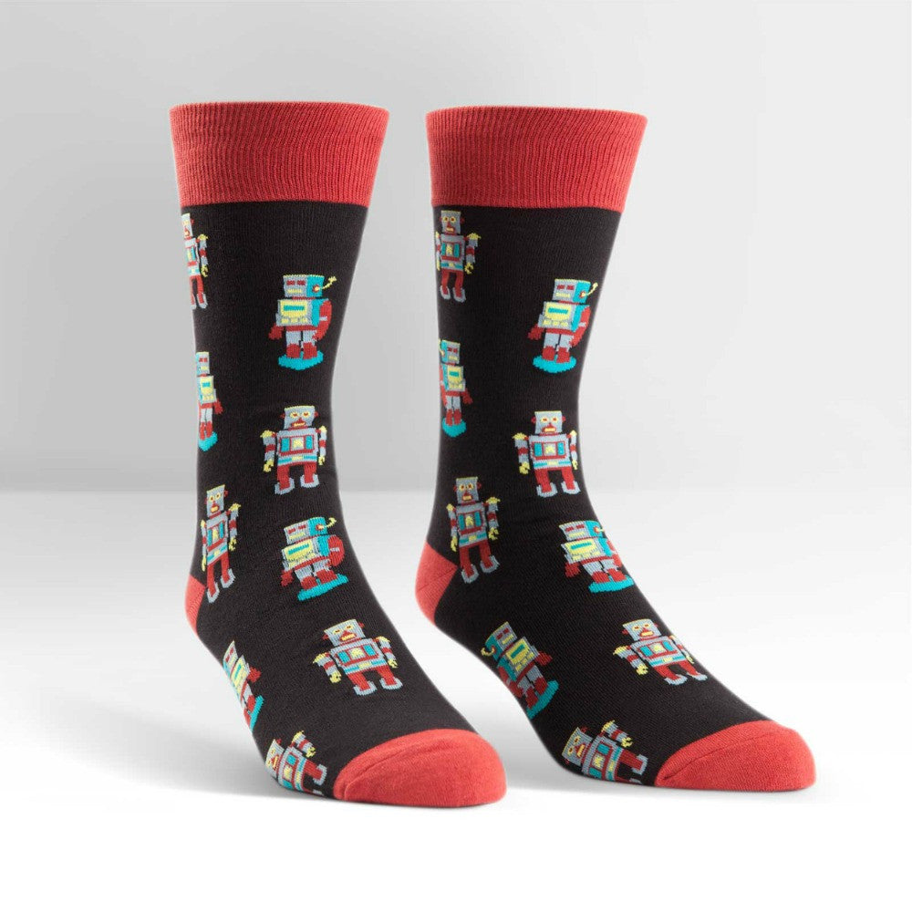 SOCK IT TO ME Crew Mens Robosock