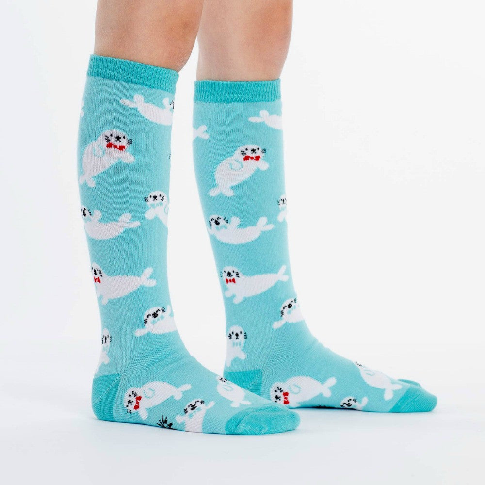 SOCK IT TO ME Knee High Junior Baby Seals