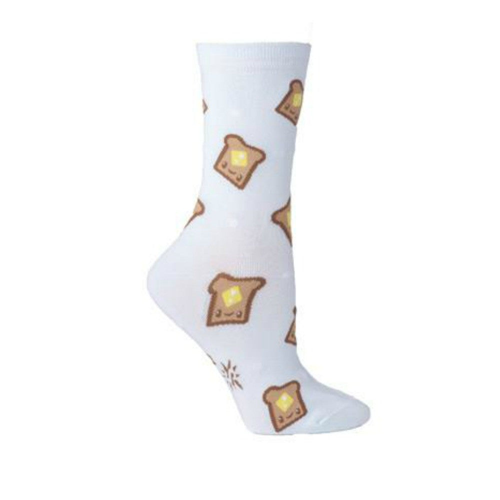 SOCK IT TO ME Crew Womens Yum Toast