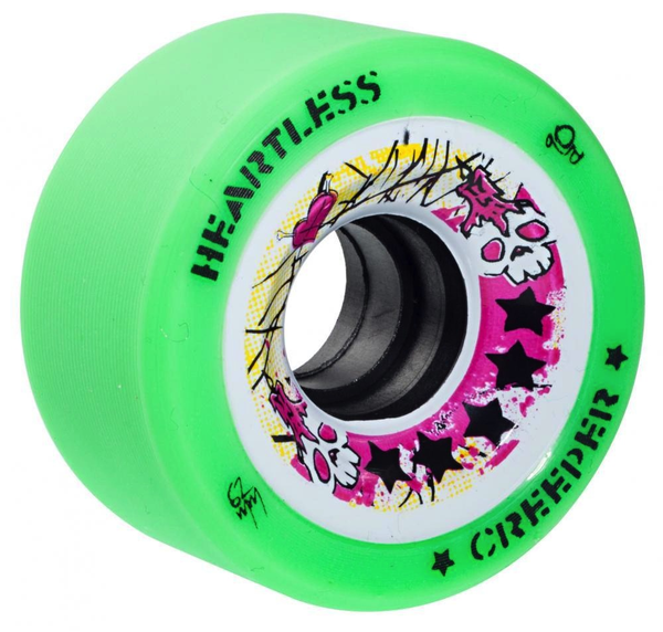 Heartless Creeper wheels 62mm