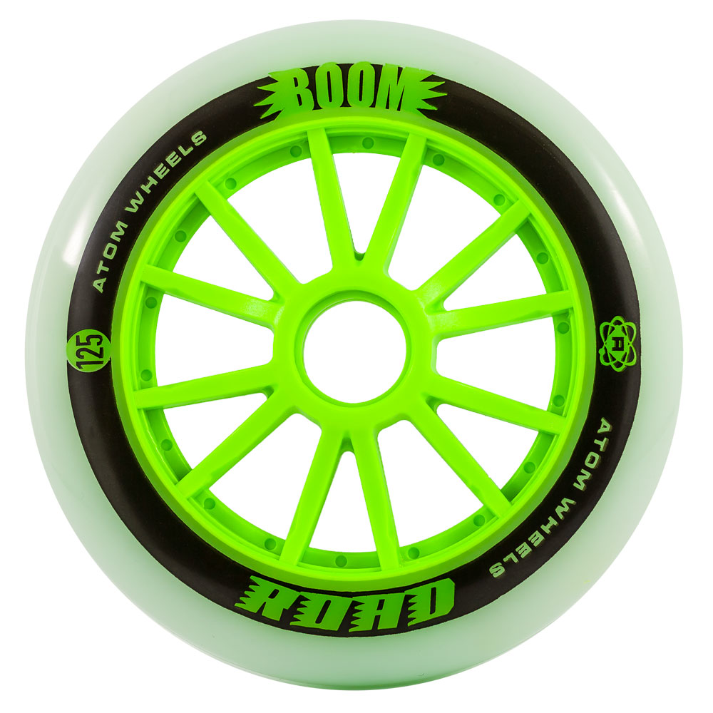 ATOM Boom Road 125mm Inline Speed Skate Wheel