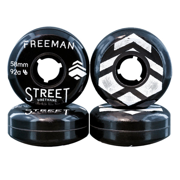 STREET URETHANE BFree 58mm Black