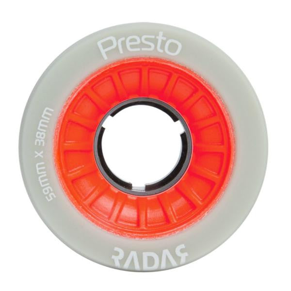 RADAR Presto Wheel 59mm 4pack