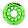 ATOM-Savant-Poison-4pack-of-Roller-Skate-Wheel  - Green