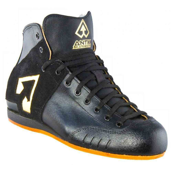 ANTIK AR1 Black/Gold Rollerskate Boot Only