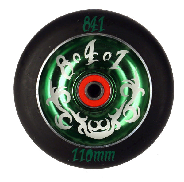 841 Tribal Scooter Wheel, Green