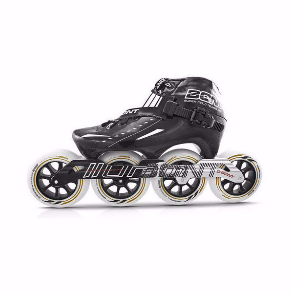 BONT Cheetah 3 mount 4x90mm Inline Skate package